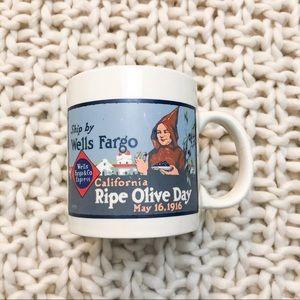 Vintage Style Well's Fargo Mug